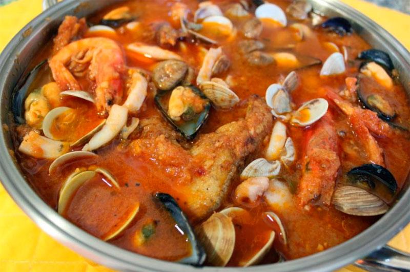 Suquet de peix amb cloïsses