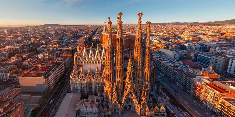 Sagrada familia - Ruta de Gaudí